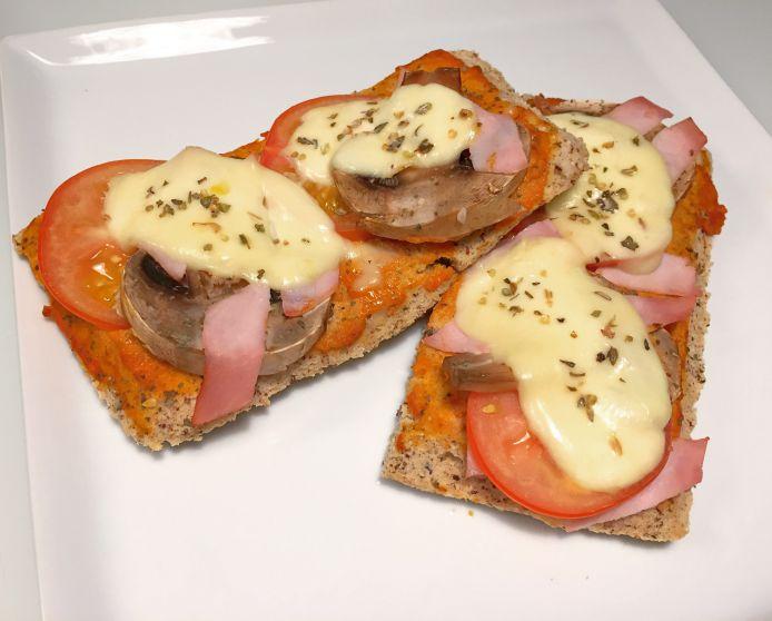 Knasende sprøde Low-Carb bruschetta's / minipizzaer med dit yndlingsfyld